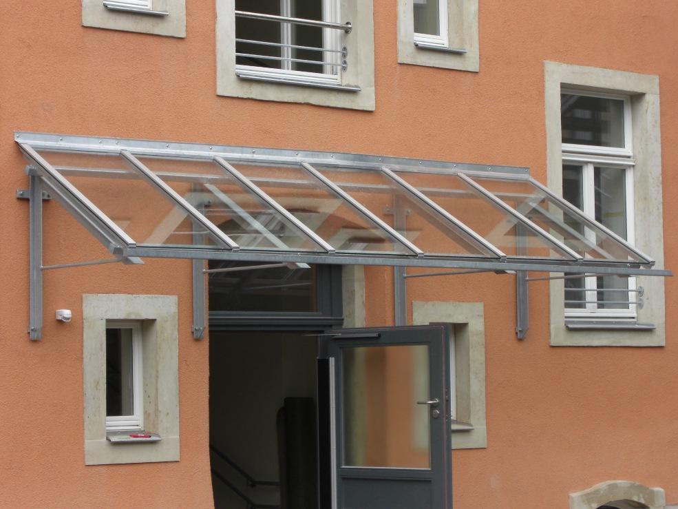 Glasüberdach KiTa Klingenbergerstraße Dresden