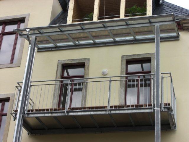 Glasüberdach Gottfreid-Keller-Str. Dresden