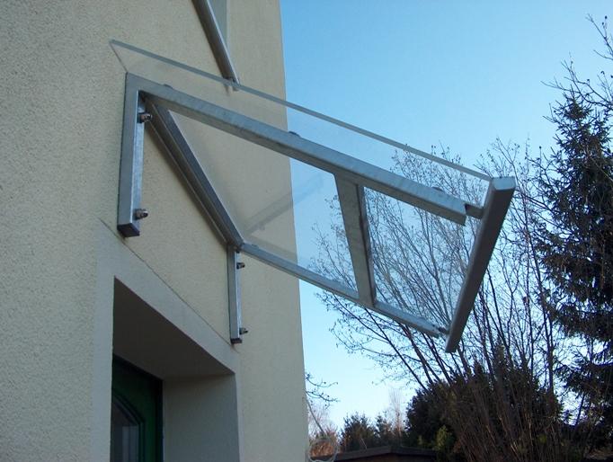 Plexiglasüberdach in Radebeul