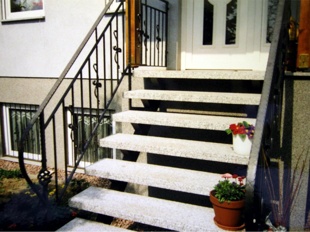 Schmiedeeisernes Treppengeländer in Meißen