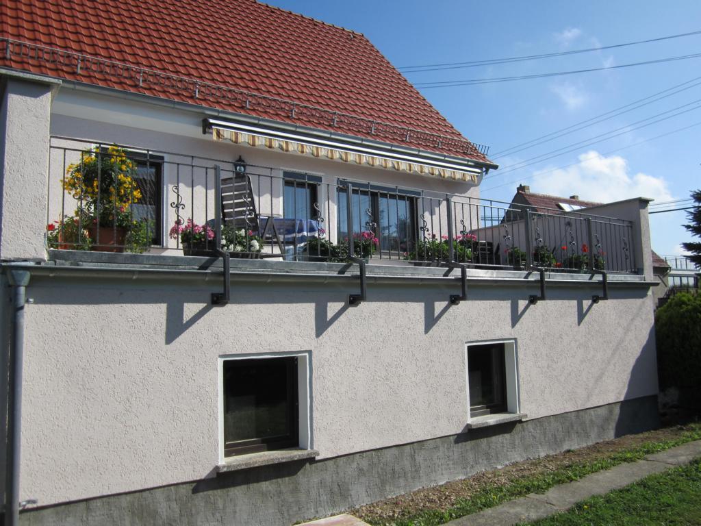 Terrassengeländer pulverbeschichtet Reichenberg b. Dresden
